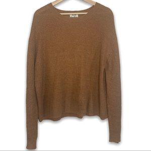 Acne Studios Linen Alpaca Blend Knit Sweater